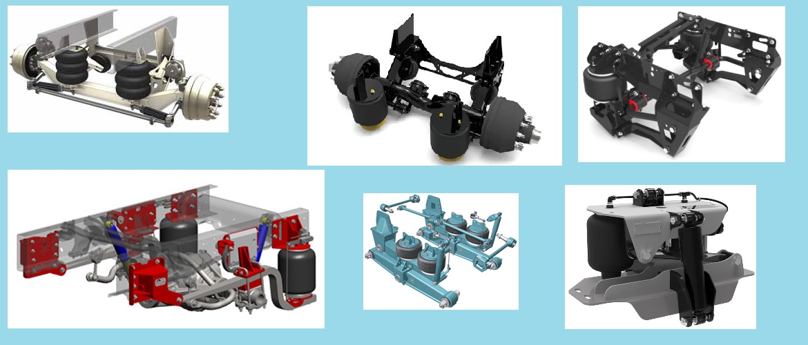 Air Ride Suspension Systems - Truck and Cab Suspensions